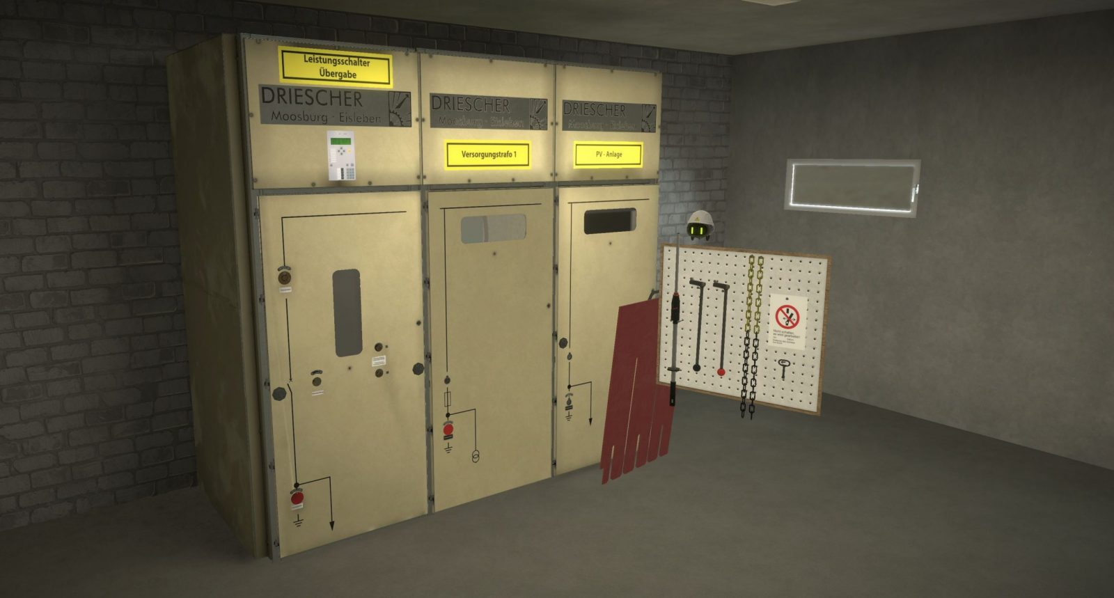 Fünf Sicherheitsregeln VR